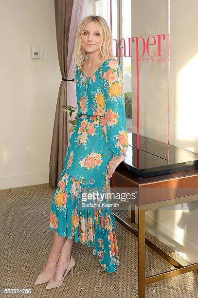 Laura Brown attends harper x Harper's BAZAAR May Issue Event Hosted By Hailee Steinfeld And Laura Brown at Sunset Tower Hotel on April 22 2016 in...