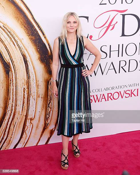 Laura Brown attends the 2016 CFDA Fashion Awards at the Hammerstein Ballroom on June 6 2016 in New York City