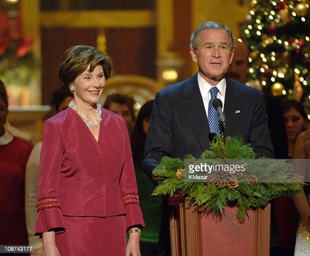 Laura Bush and President George W Bush M 10474_012345_0640JPG