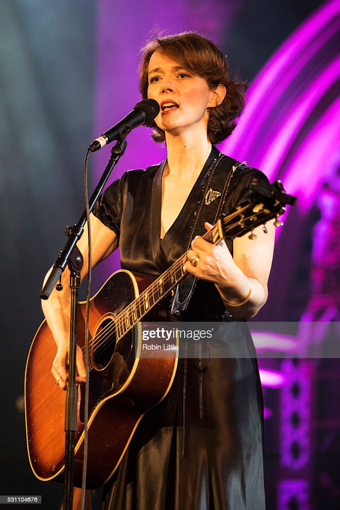 Laura Cantrell performs at the Union Chapel on May 12 2016 in London England