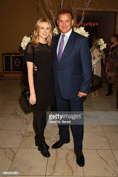 Laura Carmichael and Hugh Bonneville attend A Musical Soiree The Academy Of St Martin In The Fields at Hotel Cafe Royal on November 10 2015 in London...