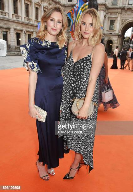 Laura Carmichael and Joanna Vanderham attend the Royal Academy Of Arts Summer Exhibition preview party at Royal Academy of Arts on June 7 2017 in...