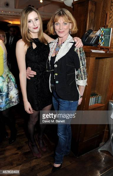 Laura Carmichael and Samantha Bond attend One Night Only at The Ivy in aid of Acting For Others supported by Tanqueray No TEN at The Ivy on December...