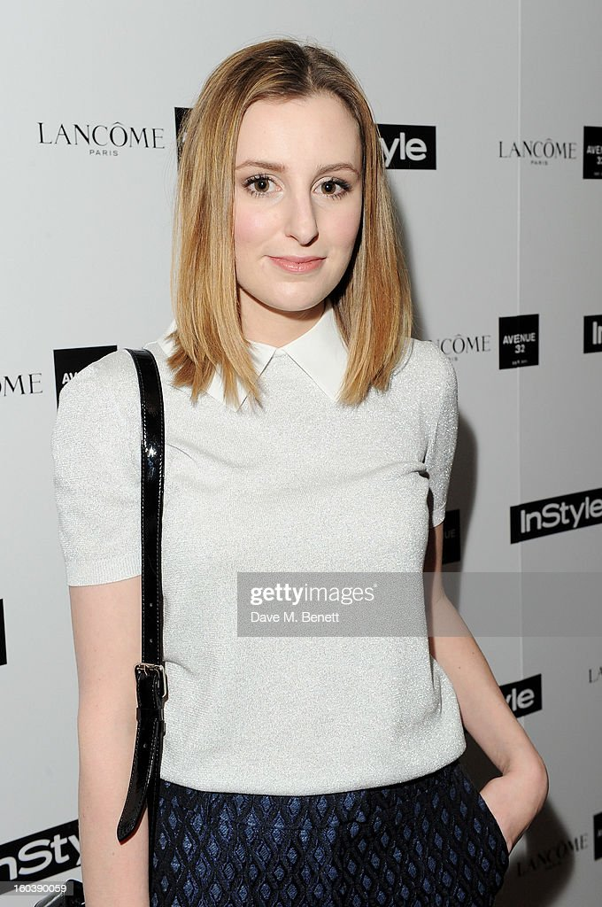 Laura Carmichael arrives at the InStyle Best Of British Talent party in association with Lancome and Avenue 32 at Shoreditch House on January 30, 2013 in London, England.