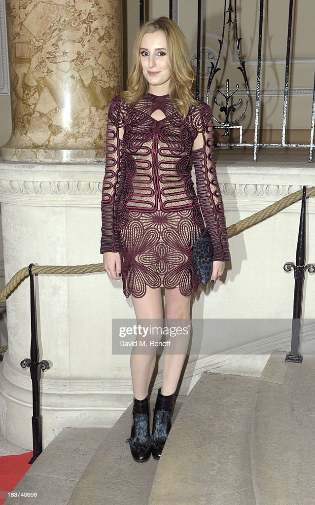 <a gi-track='captionPersonalityLinkClicked' href=/galleries/search?phrase=Laura+Carmichael&family=editorial&specificpeople=7201392 ng-click='$event.stopPropagation()'>Laura Carmichael</a> arrives at the Scottish Fashion Invasion of London at the 8th Annual Scottish Fashion Awards 2013 at Dover House on October 9, 2013 in London, England.