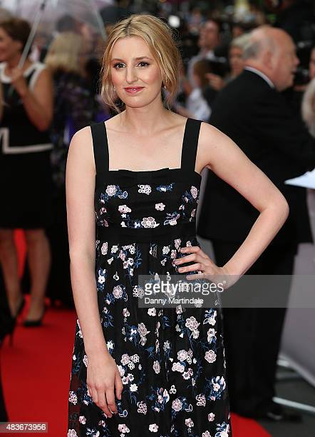 Laura Carmichael attends as BAFTA celebrate 'Downton Abbey' at Richmond Theatre on August 11 2015 in Richmond England