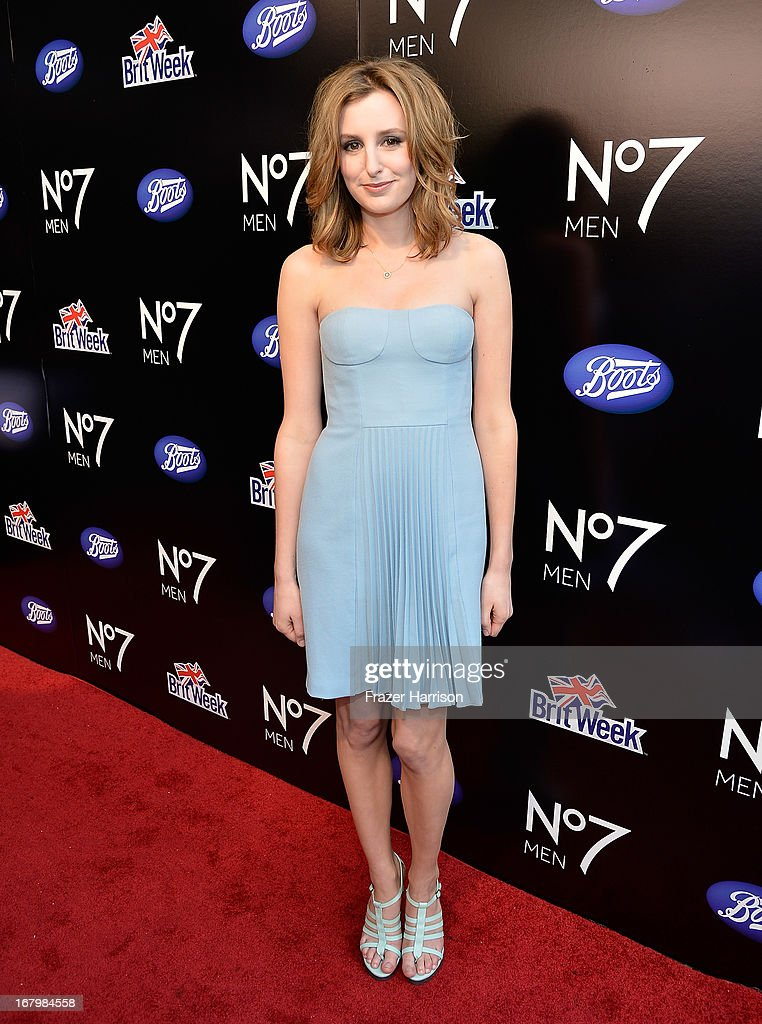 <a gi-track='captionPersonalityLinkClicked' href=/galleries/search?phrase=Laura+Carmichael&family=editorial&specificpeople=7201392 ng-click='$event.stopPropagation()'>Laura Carmichael</a> attends the Boots Not Men Launch at Britweek 2013 at The Fairmont Miramar Hotel on May 3, 2013 in Santa Monica, California.