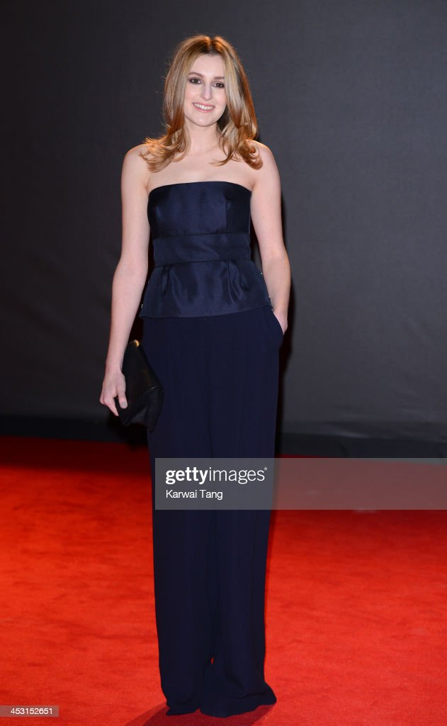 Laura Carmichael attends the British Fashion Awards 2013 held at the London Coliseum on December 2, 2013 in London, England.