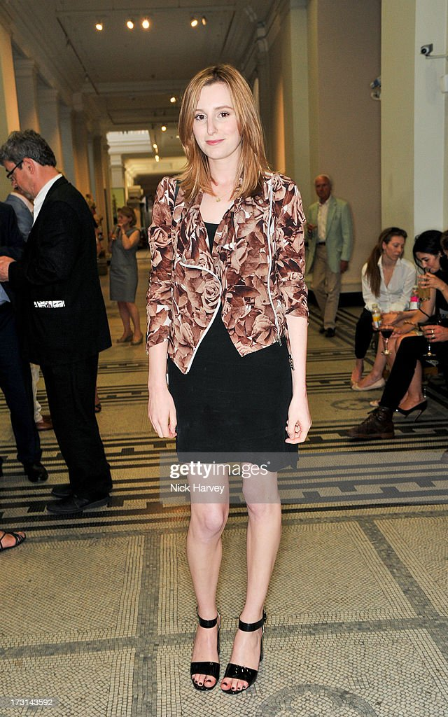 Laura Carmichael attends the Club To Catwalk: London Fashion In The 1980's exhibition at Victoria & Albert Museum on July 8, 2013 in London, England.