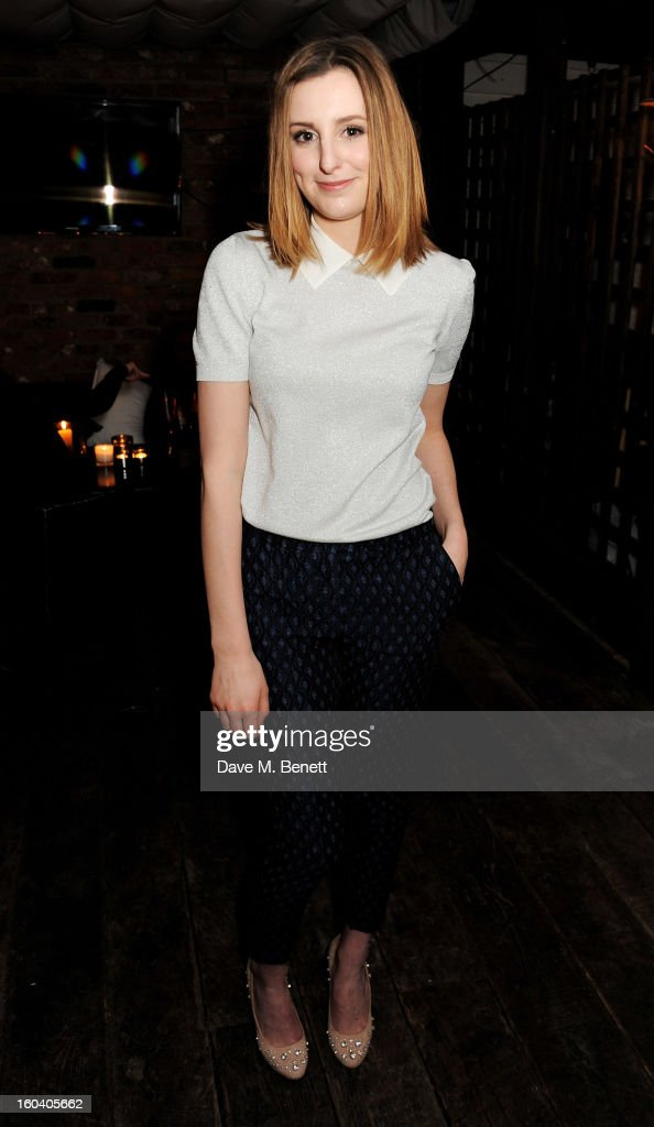 Laura Carmichael attends the InStyle Best Of British Talent party in association with Lancome and Avenue 32 at Shoreditch House on January 30, 2013 in London, England.