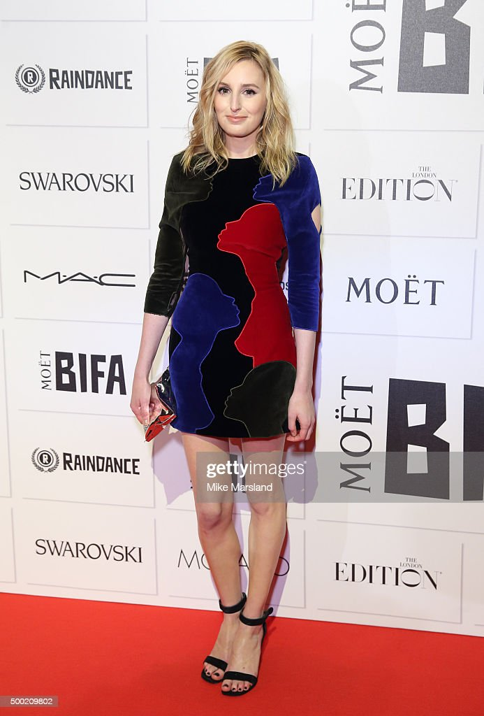 Laura Carmichael attends the Moet British Independent Film Awards at Old Billingsgate Market on December 6 2015 in London England