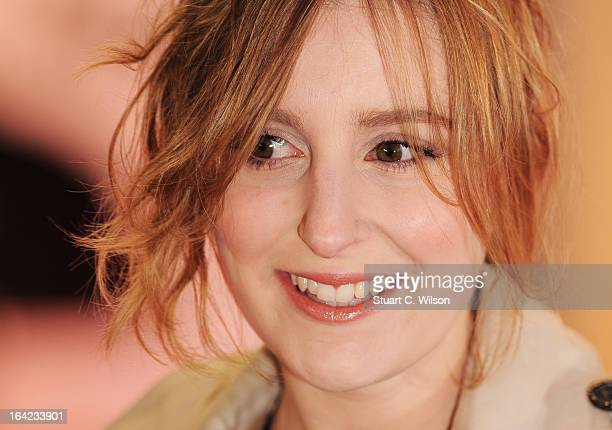 Laura Carmichael attends the press night for 'The Book of Mormon' at Prince Of Wales Theatre on March 21 2013 in London England