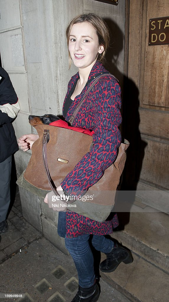Laura Carmichael sighting on January 23, 2013 in London, England.