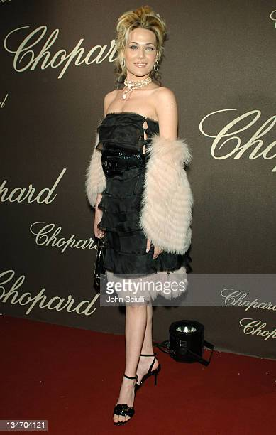 Laura Chiatti during 2006 Cannes Film Festival Chopard Trophy Awards Ceremony Arrivals at Carlton Hotel in Cannes France