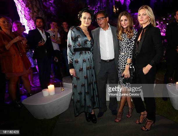 Laura Chiatti Stuart Weitzman Olivia Palermo and Kate Moss attend the Kate Moss Celebrates Stuart Weitzman Flagship Store Opening Designed By Zaha...