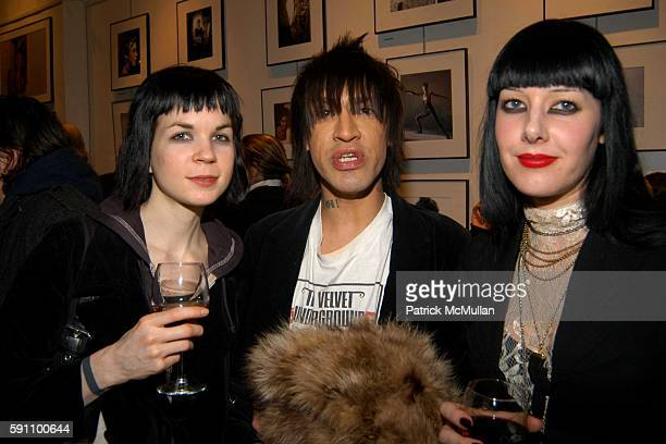 Laura Craft and Sarah Maher attend Edie Sedgwick Unseen Photographs of a Warhol Superstar Opening Reception Hosted by Misha Sedgwick at 111 4th...