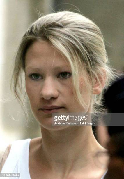 Laura Davey outside the court in Rennes France where she gave evidence in the trial of Francisco Arce Montes the man accused of murdering her former...