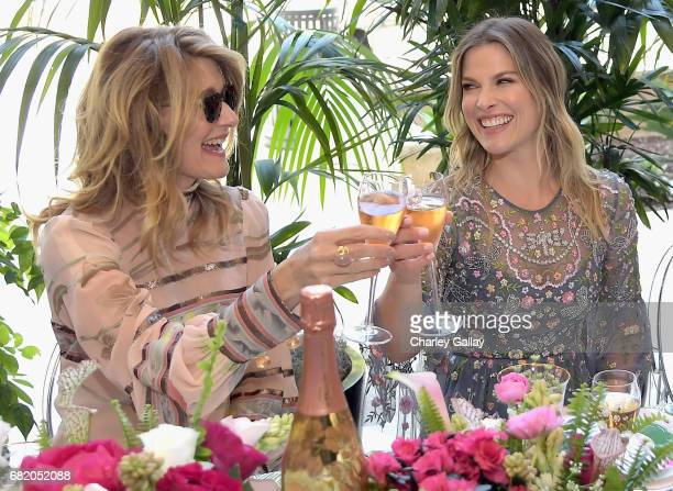 Laura Dern and Ali Larter attend PerrierJouet Toasts Mother's Day in Celebration at Georgie at Montage Beverly Hills on May 11 2017 in Beverly Hills...