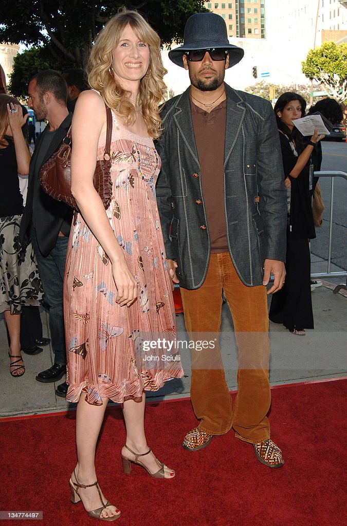 Laura Dern and Ben Harper during 'Happy Endings' Los Angeles Premiere Red Carpet at Mann National Theatre in Westwood California United States