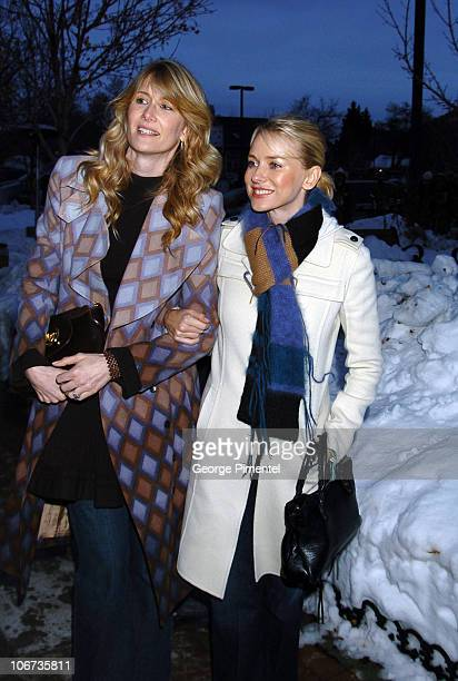 Laura Dern and Naomi Watts during 2004 Sundance Film Festival Dramatic Competetion 'We Don't Live Here Anymore' Premiere at Library in Park City Utah...