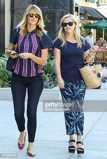 Laura Dern and Reese Witherspoon seen on October 21 2016 in Los Angeles California