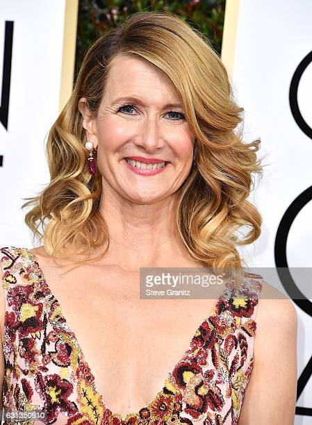 Laura Dern arrives at the 74th Annual Golden Globe Awards at The Beverly Hilton Hotel on January 8 2017 in Beverly Hills California