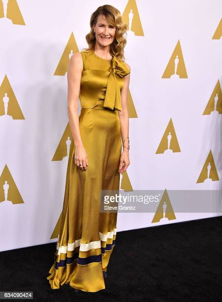 Laura Dern arrives at the 89th Annual Academy Awards Nominee Luncheon at The Beverly Hilton Hotel on February 6 2017 in Beverly Hills California
