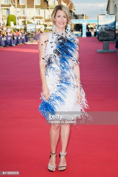 Laura Dern arrives at the opening ceremony of the 43rd Deauville American Film Festival on September 1 2017 in Deauville France