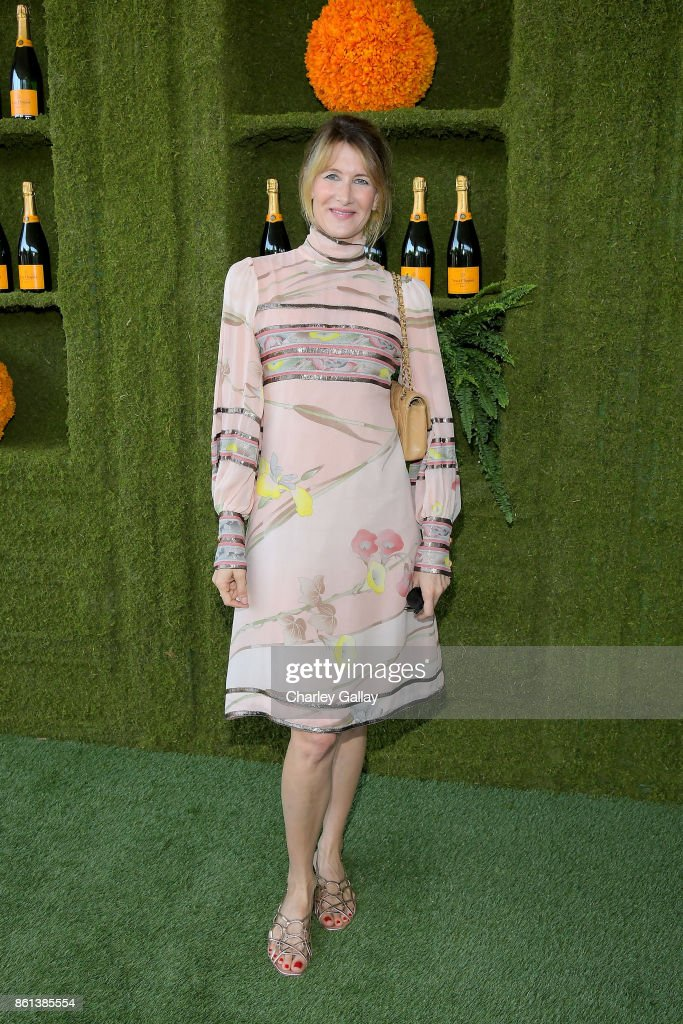 Laura Dern at the Eighth Annual Veuve Clicquot Polo Classic on October 14, 2017 in Los Angeles, California.