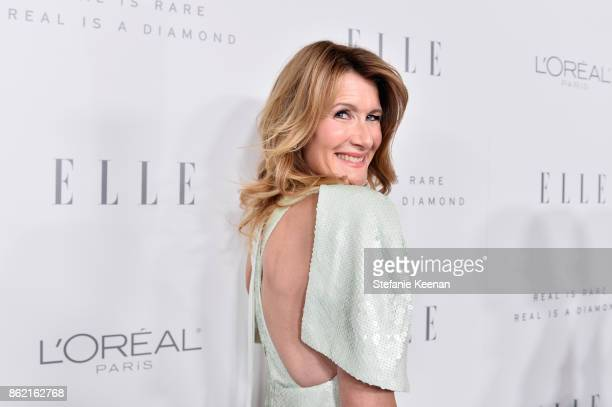 Laura Dern attends ELLE's 24th Annual Women in Hollywood Celebration presented by L'Oreal Paris Real Is Rare Real Is A Diamond and CALVIN KLEIN at...