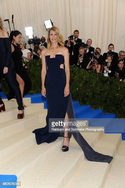 Laura Dern attends 'Rei Kawakubo/Comme des Garcons Art Of The InBetween' Costume Institute Gala Arrivals at Metropolitan Museum of Art on May 1 2017...