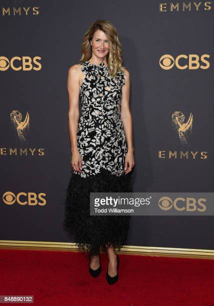 Laura Dern attends the 69th Annual Primetime Emmy Awards at Microsoft Theater on September 17 2017 in Los Angeles California