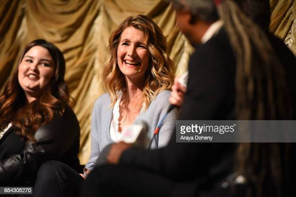 Laura Dern attends the Film Independent at LACMA Screening and QA of 'Wilson' at Bing Theatre At LACMA on March 16 2017 in Los Angeles California