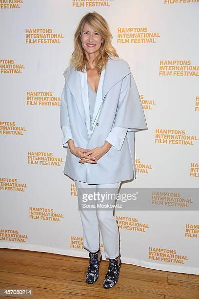 Laura Dern attends The Hampton International Film Festival 'Wild' PremiereConversation with Laura Dern at The Bay Street Theater on October 11 2014...