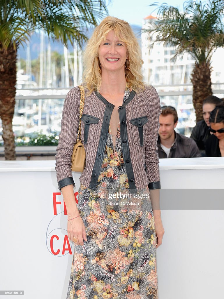 <a gi-track='captionPersonalityLinkClicked' href=/galleries/search?phrase=Laura+Dern&family=editorial&specificpeople=204203 ng-click='$event.stopPropagation()'>Laura Dern</a> attends the Photocall for 'Nebraska' during The 66th Annual Cannes Film Festival at the Palais des Festival on May 23, 2013 in Cannes, France.