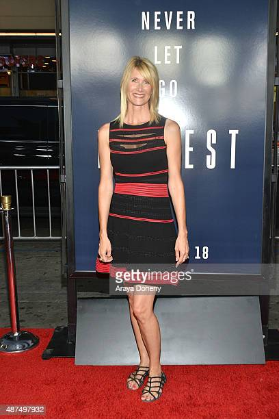 Laura Dern attends the premiere of Universal Pictures' 'Everest' at TCL Chinese 6 Theatres on September 9 2015 in Hollywood California
