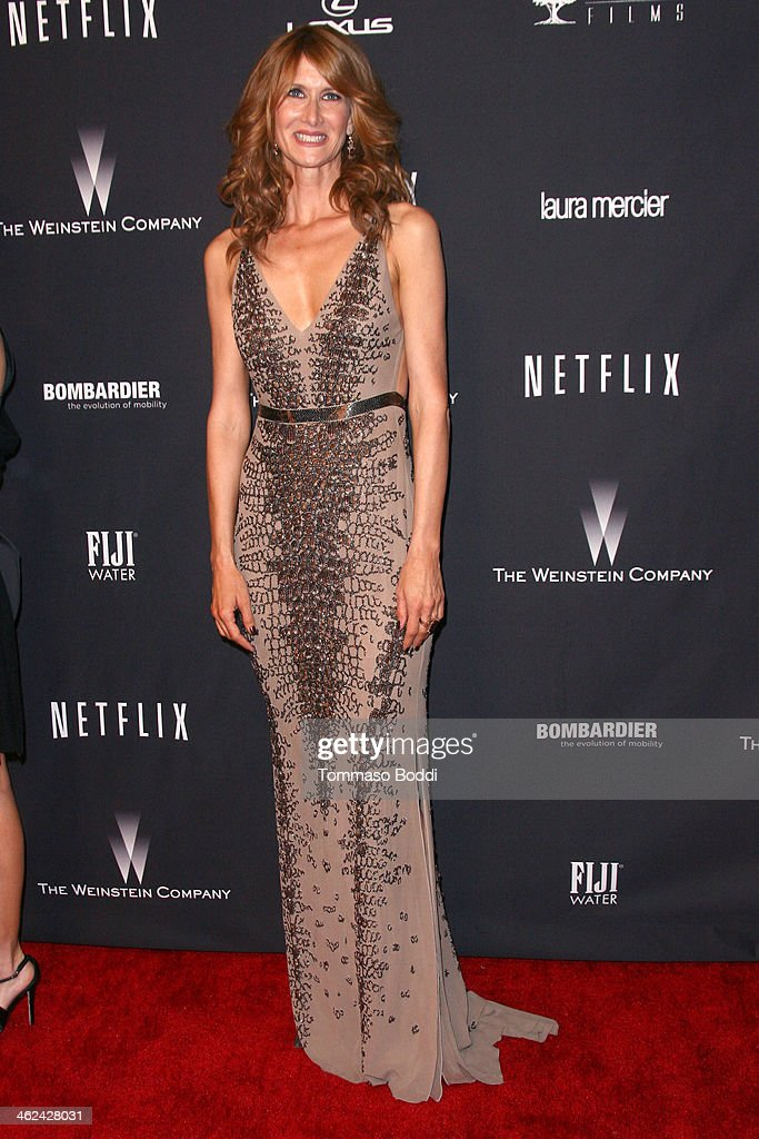 <a gi-track='captionPersonalityLinkClicked' href=/galleries/search?phrase=Laura+Dern&family=editorial&specificpeople=204203 ng-click='$event.stopPropagation()'>Laura Dern</a> attends the Weinstein Company's 2014 Golden Globe Awards after party on January 12, 2014 in Beverly Hills, California.