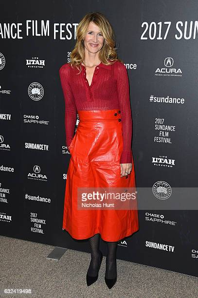 Laura Dern attends the 'Wilson' Premiere on day 4 of the 2017 Sundance Film Festival at Eccles Center Theatre on January 22 2017 in Park City Utah