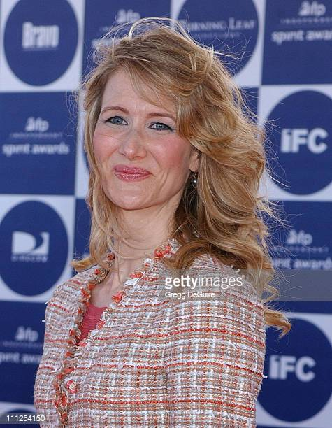Laura Dern during The 19th Annual IFP Independent Spirit Awards Arrivals at Santa Monica Pier in Santa Monica California United States