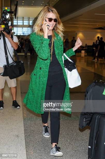 Laura Dern is seen on June 16 2017 in Los Angeles California
