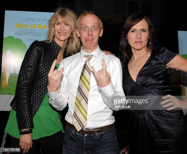 Laura Dern Mike White writer and director and Molly Shannon