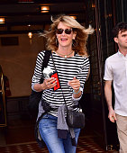 Laura Dern seen on the streets of Manhattan on July 23 2016 in New York City