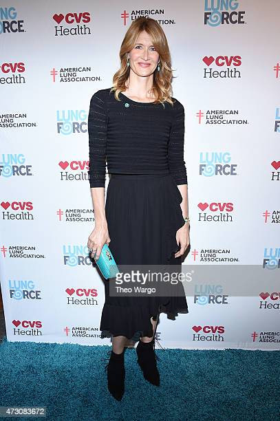 Laura Dern steps out in New York City for the American Lung Association's LUNG FORCE as it launches its Share Your Voice initiative to raise...