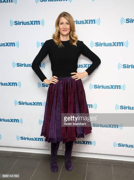 Laura Dern visits at SiriusXM Studios on March 21 2017 in New York City