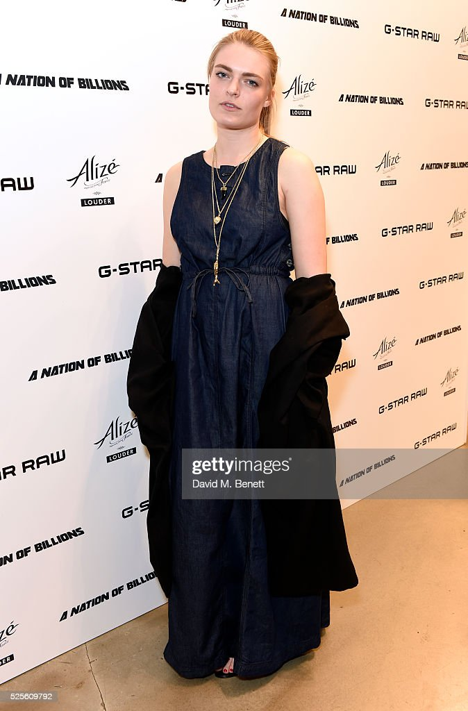 Laura Doggett attends the G-Star Elwood Sessions on April 28, 2016 in London, England.