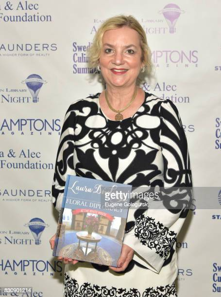 Laura Dowling attends Authors Night 2017 At The East Hampton Library at The East Hampton Library on August 12 2017 in East Hampton New York