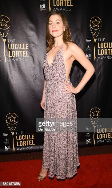 Laura Dreyfuss attends 32nd Annual Lucille Lortel Awards at NYU Skirball Center on May 7 2017 in New York City
