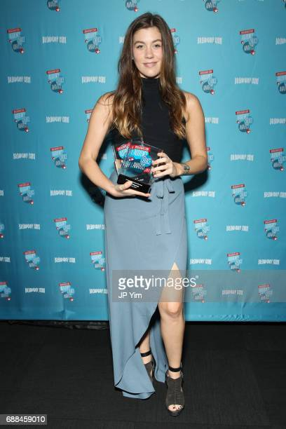 Laura Dreyfuss attends the 17th Annual Broadwaycom Audience Choice Awards at 48 Lounge on May 25 2017 in New York City