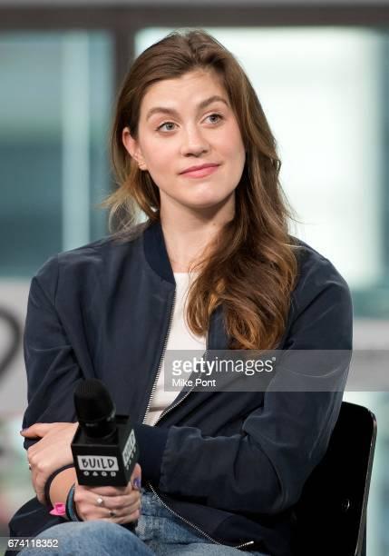 Laura Dreyfuss visits Build Studios to discuss 'Dear Evan Hansen' at Build Studio on April 27 2017 in New York City