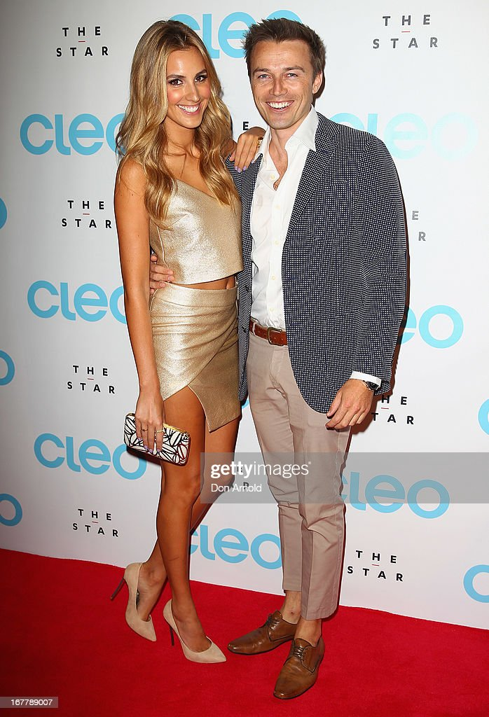 <a gi-track='captionPersonalityLinkClicked' href=/galleries/search?phrase=Laura+Dundovic&family=editorial&specificpeople=4206172 ng-click='$event.stopPropagation()'>Laura Dundovic</a> and James Kerley attend the CLEO magazine relaunch party at The Star on April 30, 2013 in Sydney, Australia.